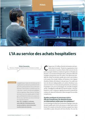 L'IA au service des achats hospitaliers