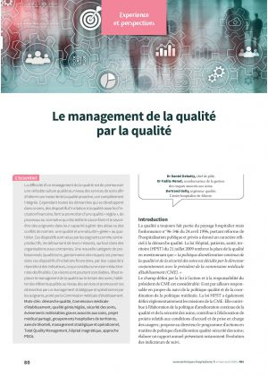 Le management de la qualité par la qualité