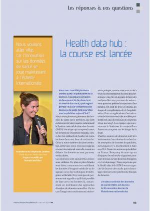 [Accès libre] Les réponses à vos questions - Health data hub : la course est lancée