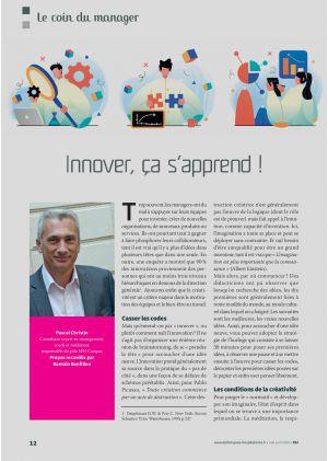 Le coin du manager, Pascal Christin. Consultant expert en management, coach et médiateur