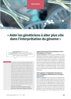 « Aider les généticiens à aller plus vite dans l'interprétation du génome »