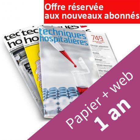 Abonnement « papier + web » pour les EHPAD autonomes, hôpitaux locaux, cliniques, structures associatives