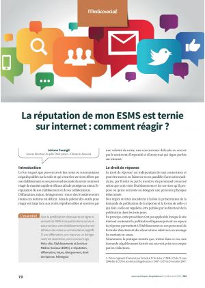 La réputation de mon ESMS est ternie sur internet : comment réagir ?