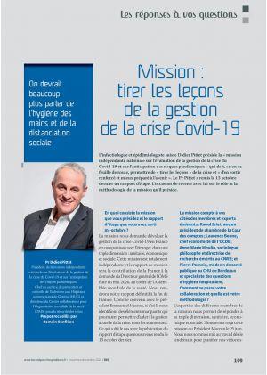 [Accès libre] Les réponses à vos questions - Mission : tirer les leçons de la gestion de la crise Covid-19