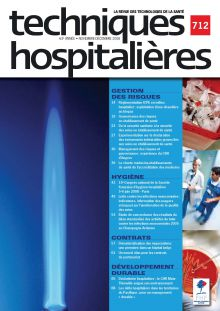 Revue Techniques hospitalières n°712