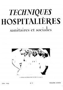 Revue Techniques hospitalières N°9