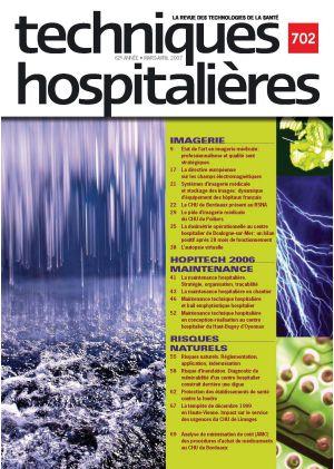 Revue Techniques hospitalières n°702