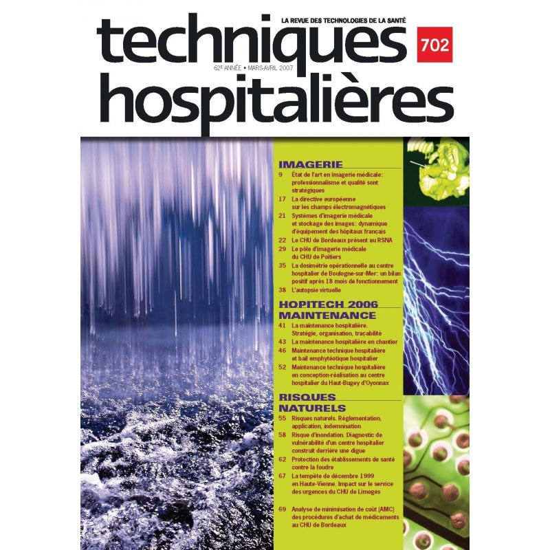 revue techniques hospitali u00e8res n u00b0702