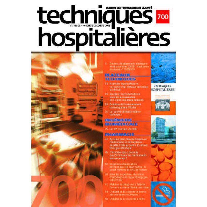 revue techniques hospitali u00e8res n u00b0700