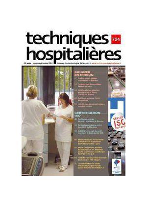 Revue Techniques hospitalières n°724