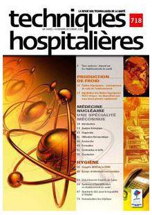 Revue Techniques hospitalières n°718