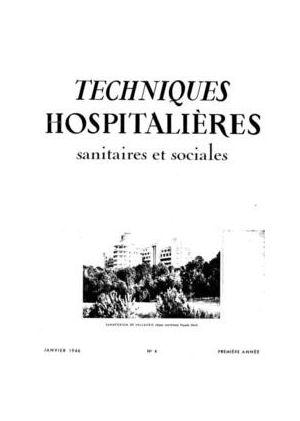 Revue Techniques hospitalières n°4
