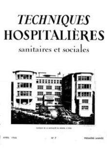 Revue Techniques hospitalières n°7