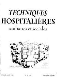 Revue Techniques hospitalières n°10-11