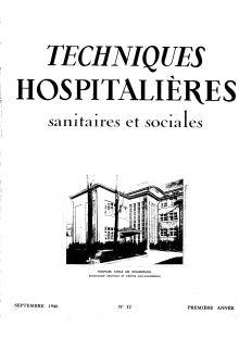 Revue Techniques hospitalières n°12