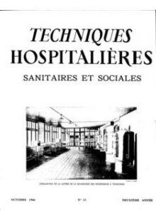 Revue Techniques hospitalières n°13