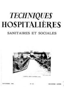 Revue Techniques hospitalières n°14