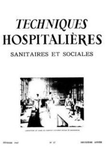 Revue Techniques hospitalières n°17