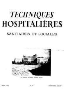 Revue Techniques hospitalières n°18