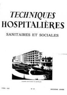 Revue Techniques hospitalières n°19