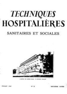 Revue Techniques hospitalières n°22