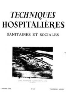 Revue Techniques hospitalières n°28