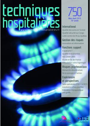 Revue Techniques hospitalières n° 750 Mars-Avril 2015