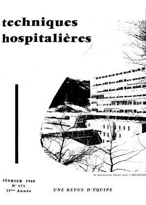 Revue Techniques hospitalières n° 173