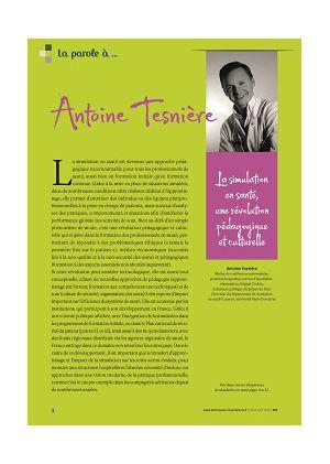 La parole à Antoine Tesnière