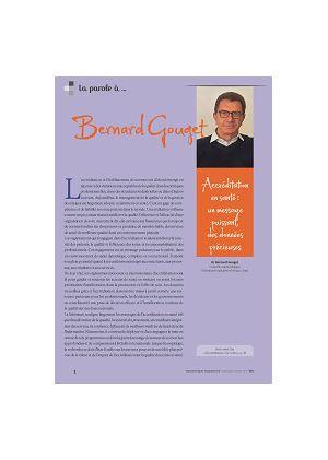 La parole à Bernard Gouget